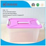 Multifunctional di cristallo Plastic Storage Box con Handle