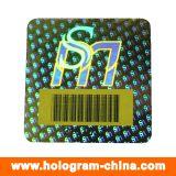 3D Stickers van het Hologram van de Streepjescode van de anti-Vervalsing van de Laser