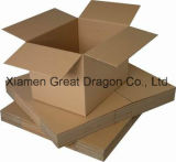 ボール紙のパッキング郵送の移動荷箱の波形のカートン(PC009)