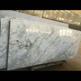 Partie supérieure du comptoir blanche d'île de granit de fleuve direct d'usine