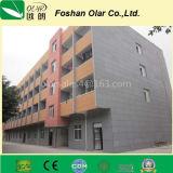 Внешний цвет фасада цемента волокна через панель доски