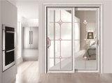 Алюминиевая стеклянная раздвижная дверь 3401