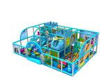 スライドの運動場装置(KP160526)が付いているプラスチック柔らかい子供のプール