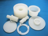 Cilíndrica encargo moldeado de silicona FKM Viton tapón de goma protectora para el metal del equipo