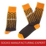 Alta calidad del calcetín del ocio del algodón del peine de los hombres (UBM1024)