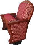 Sola silla derecha clásica de lujo del auditorio del pie