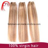 extensão indiana do cabelo humano de Remy do cabelo do Virgin 9A