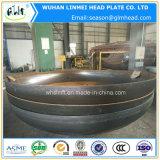 Protezione capa ellissoidale servita del tubo del acciaio al carbonio