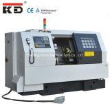 Máquina inclinada Kdck-20A do torno do CNC da cama da alta velocidade