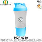 يحرّر [500مل] [بّ] [ببا] بلاستيكيّة بروتين هزّة زجاجة, بلاستيكيّة رجّاجة زجاجة ([هدب-0310])
