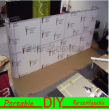 주문 고품질 직물 휴대용 모듈 알루미늄 표준 전람 부스