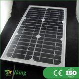 Monocrystalline панель солнечных батарей размера панели солнечных батарей 14W18V Mono малая с рамкой сплава