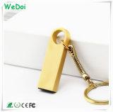 Mini lecteur flash USB imperméable à l'eau en métal avec le logo d'OEM (WY-MI19)
