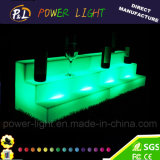 Colore illuminato della mobilia di evento che cambia la mensola di plastica del vino del LED