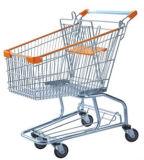 Вагонетка 08021 покупкы супермаркета металла бакалеи