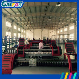 China Grande Formato Roll to Roll Garros 4 Color Sublimation Transfer Digital Fabric Printing Machine