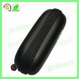 Caja dura portable del auricular de EVA de la cremallera negra para los deportes (EC-2011)
