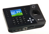 Système biométrique de service de temps d'empreinte digitale d'enregistreur de temps