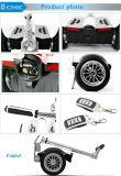 Faltbarer 2 Rad-elektrischer stehender Roller-Miniselbstausgleich-Roller mit Lenkstange