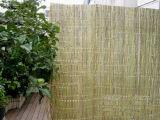 خشبيّ بلاستيكيّة حديقة سياج خيزران بالجملة
