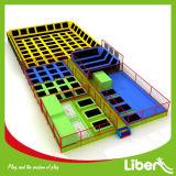Parque interno grande do Trampoline do fabricante de Liben para adultos e crianças