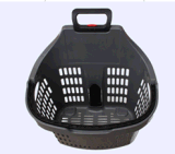 Храньте пластичные корзины для товаров с ручкой 090514
