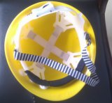 換気(R3A-1)、構築の安全ヘルメット2016の新式の電力の安全ヘルメット工学帽子およびファン帽子が付いている日本のタイプ安全ヘルメット