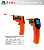 صناعيّة تحت أحمر ميزان حرارة درجة حرارة مسدّس مدفع مع ليزر جهاز تسديد عرض [مإكس]