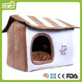 Заполненная удобная белая дом любимчика плюша цвета (HN-pH333)