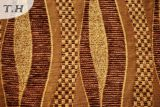 Tissu de Chenille de poste de piste pour le Slipcover de sofa