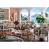Hauptsofa stellte mit hölzernem Sofa-Rahmen ein (526)