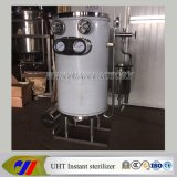 Steam Heating를 가진 관 Coil Type Uht Sterilizer