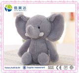 Poupée animale bourrée de peluche de jouet d'éléphant de luxe mignon de la Thaïlande
