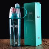 Creativo del aerosol Deporte botella de agua de ciclo del zumo de fruta de la coctelera