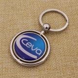 2016 회사 로고를 가진 금속 가죽에 의하여 개인화된 열쇠 고리를 주문을 받아서 만들었다