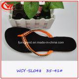Bascules électroniques plates de talon de poussoir de Laides EVA de mode pour des femmes