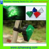 Luz trasera inteligente Hw-B1 del laser de la bicicleta LED de la joya de 8 LED