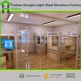 Het moderne Huis van de Container van Huizen Prefab met BinnenFaciliteiten