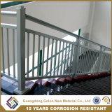 Barandilla exterior ensamblada fácil del pasamano de la escalera del aluminio del acero con poco carbono