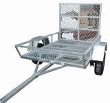 De Gegalvaniseerde ATV Aanhangwagen van de hete ONDERDOMPELING 6 X 4