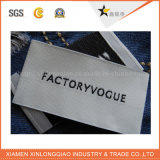 Washable сплетенный логос ткани Шить-в ярлыке одежды печатание размера одежды