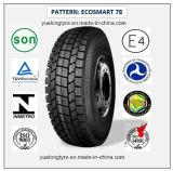 Tous les pneus radiaux en acier 275/80r22.5 (ECOSMART 62) de camion et de bus