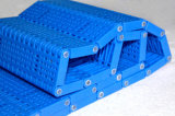 Courroie modulaire en plastique de réseau affleurant hygiénique chaud de vente pour des légumes