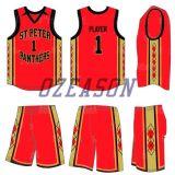 Ozeason Ropa Deportiva Full Dye Sublimación Thunder Eco-Friendly Basketball Jersey