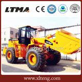 Ltma Ladevorrichtung 5 Tonnen-Vorderseite-Ladevorrichtung mit 3 Cbm der Wanne