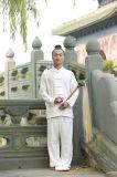Kleding van de Praktijk van de Sporten van het Vlas van de Lente & van de Zomer van de Mensen van de Chi van Wudang Tai van het taoïsme de Hoogwaardige