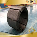De Lage Ontspanning met grote trekspanning van de Sterkte spande de Concrete Bundel van het Staal van PC van 15.7mm voor