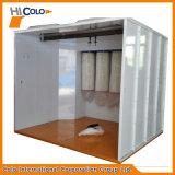 Camminata in pacchetto della cabina del rivestimento della polvere
