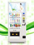 Máquina expendedora automática del bocado de los medios de la pantalla táctil
