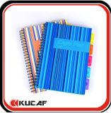 Carnet de notes à spirale avec la couverture en plastique (KCx-00186)